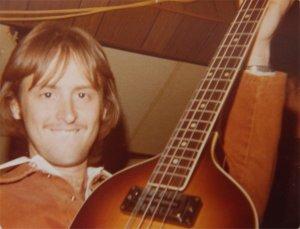Mick on bass