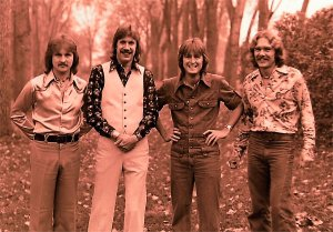 Silver Laughter 1976 - Jon, Ken, Mick and Paul