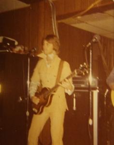 Mick doing his Elvis Impression