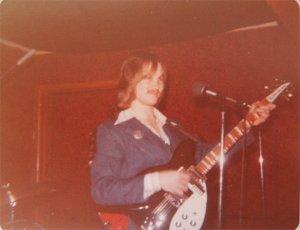 Jon on the Rickenbacker 12 string