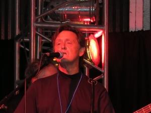 Mick singing