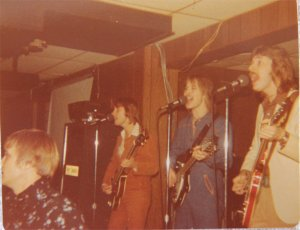 Mick, Jon and Ken singing