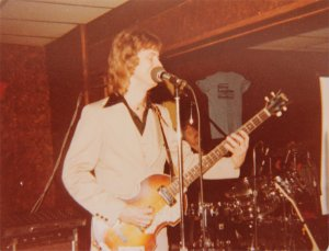 Mick on bass with Paul in the background