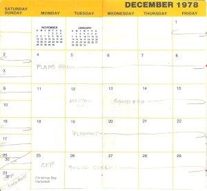 1978-December calendar