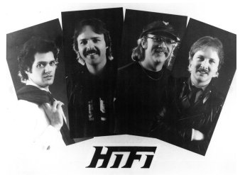 Hi-Fi promo photo - Steve on the left and Jon on the far right.