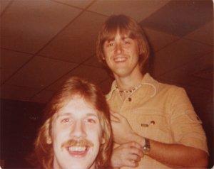 Ken and Mick on break