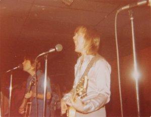 Mick and Jon singing