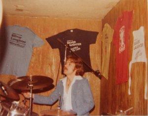 Paul behind his drums