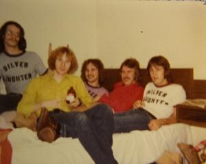 Silver Laughter - Carl, Kim, Jon, Ken and Mick