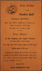 Punkin Ball 1971