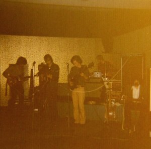 Silver laughter 1974 - John, Jon, Denny, Kim and Steve
