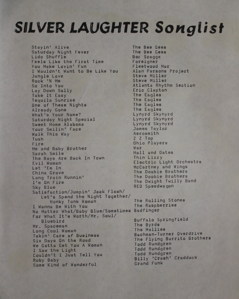 song list Rock n roll america's top 1,000 classic rock songs (our base song list.
