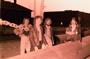 Silver Laughter 1979 - Mick, Jon, Paul and Ken