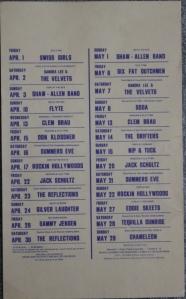 Blue Moon Calendar Apr. May 1977