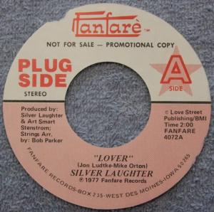"""""""Lover"""" Promo Label"""