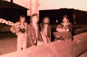 Silver Laughter 1978 - Mick, Jon, Paul and Ken