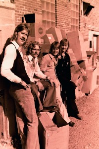 Silver Laughter 1976: Ken, Paul, Mick and Jon