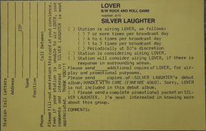 Lover Station Request back