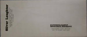 Pre Addressed Envelope
