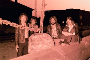 Silver Laughter 1978 - Jon, Mick, Paul and Ken