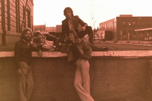 Silver Laughter 1978 - Paul, Ken, Jon and Mick (below right)