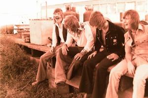 Silver Laughter 1976 - Ken, Paul, Jon and Mick