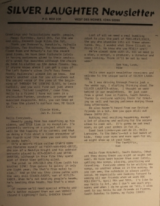 Newsletter - 1978 - March - page 1