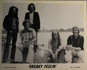 Sneaky Feelin' - with Steve Elliott far left and seated next to him is Denny Walton