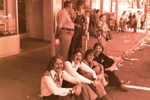 Silver Laughter 1976 - Paul Ken, Mick and Jon