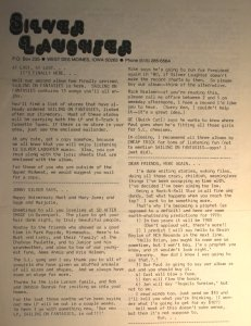 Newsletter - 1978 - August - page 1