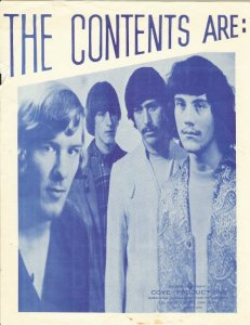 The Contents Are: - Paul, Mick, Dave and Craig