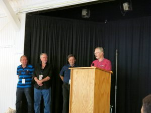 Silver Laughter 2014 - Paul, Mark, Mick and Kim