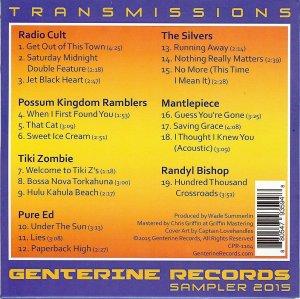 Genterine Transmissions - Back