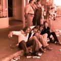 Silver Laughter 1976 - Paul, Mick, Ken and Jon