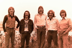 Silver Laughter 1976 - Jon, Carl, Ken, Paul and Mick