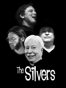 The Silvers Poster - Mick, Ricky, Glenn and Tom