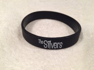 The Silvers wrist bands