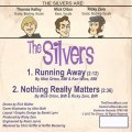 Back of the first single by The Silvers