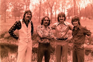 Silver Laughter 1976 - Ken, Paul, Jon and Mick