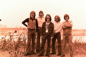 Silver Laughter 1976 - Jon, Ken, Carl, Paul and Mick