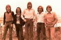 Silver Laughter - This 1976 photo shows the 1978 group that performed this tune - Jon, Ken, Paul and Mick with sound man, Carl in black.