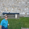 Mick in front of Windsor Castle