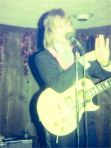 Jon onstage New Year's Eve 1977