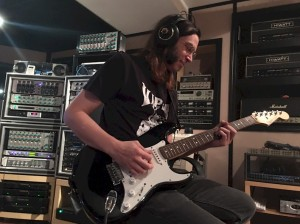 Ricky in the studio October 2016