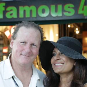 Drew and his wife, Zabeen